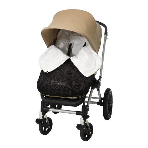 Petunia Stroll Bunting Bag Black Currant front-805289