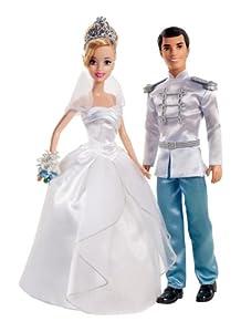 Mattel x2846 : Mariage : Couple de Mariés : Cendrillon et