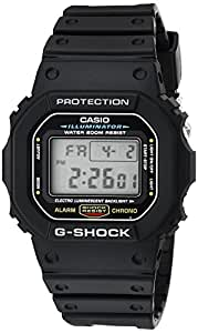 CASIO G-SHOCK BASIC FIRST TYPE DW-5600E-1V メンズ (海外モデル) 逆輸入品
