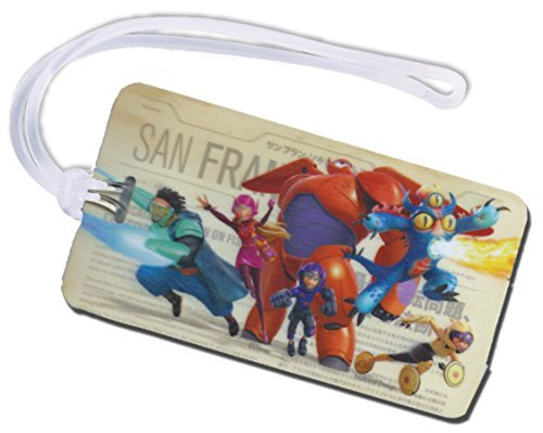 Big Hero 6 Backpack & Luggage ID Tag ~ Baymax & More