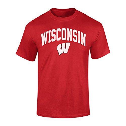 Wisconsin shirt wisconsin badgers shirt wisconsin shirts for Mens wisconsin badger shirts