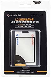 LARMOR by GGS Self-Adhesive Optical Glass LCD Screen Protector for CANON 7D