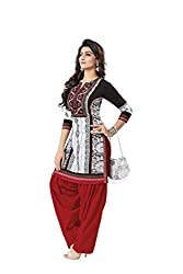 PADMiNi Ethnicwear Women's Kurti Fabric White Free Size