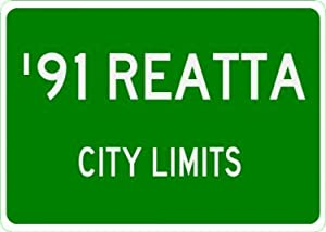 1991 91 BUICK REATTA City Limit Sign