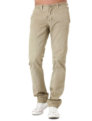 Japan Rags Gotha Droite Resserré Beige Man Trousers Men - W34