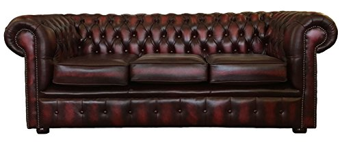 Super Deals For Traditional Chesterfield Genuine Leather Antique Cjindustries Chair Design For Home Cjindustriesco