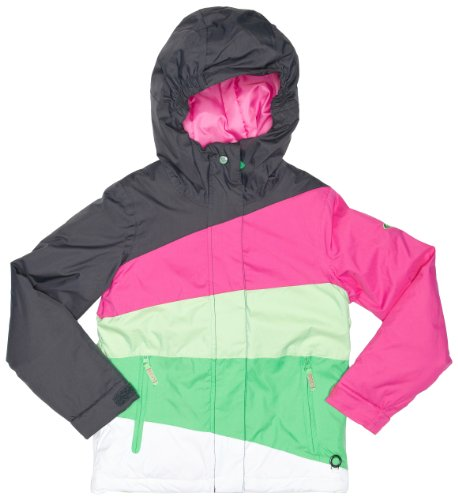 Roxy Pink Flake Double Breasted Girl's Jacket