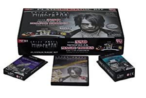Criss Angel Mindfreak Platinum Magic Kit with Over 350 Magic Tricks & Instructional DVD + Master Mindfreaks Volume 6 DVD + Penetration Pen + Money Printer
