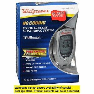 Cheap Walgreens Trueresult Blood Glucose Meter, 1 ea (B006F0WIV8)