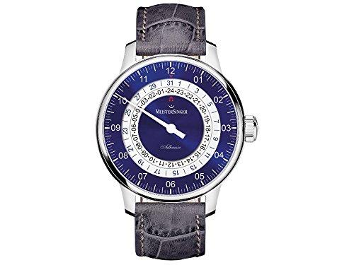 MeisterSinger reloj hombres automática Adhaesio AD908