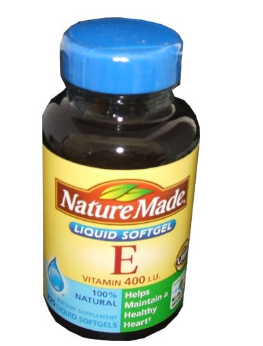 Nature Made Vitamin E 400 IU Natural 225 Softgels