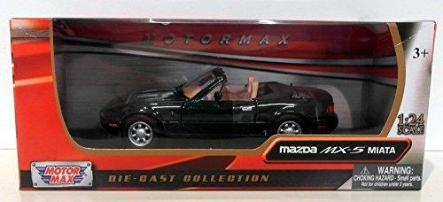 1-24-scale-73262g-mazda-mx5-roadster-mk1-miata-eunos-green-model-car-by-motormax