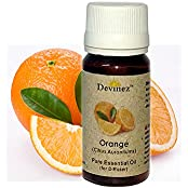 Devinez Orange, Rajnigandha Essential Oil For Electric Diffusers/ Tealight Diffusers/ Reed Diffusers, 60ml Each