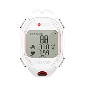 Polar RCX3 Bike Cardiofréquencemètre femme Blanc