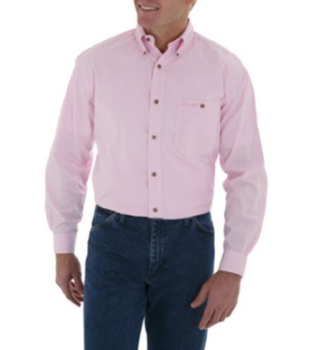 Wrangler® Tough Enough to Wear Pink Check Larg