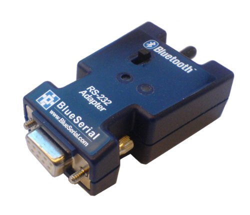 BlueSerial Serieller RS232 Class 1 Bluetooth Adapter f&#252;r Industrie, Messtechnik, Automation, Medizin. Akku-Version. Neu: AT-Befehlssatz