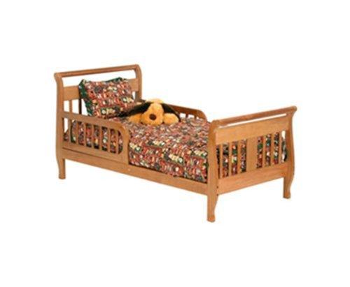 Oak Stork Craft Soom Soom Toddler Bed front-1016303