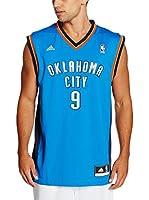 adidas Camiseta sin mangas Oklahoma City Thunder Ibaka (Azul / Blanco)