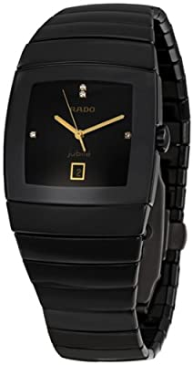 Rado Men's R13724712 Sintra Black Dial Watch