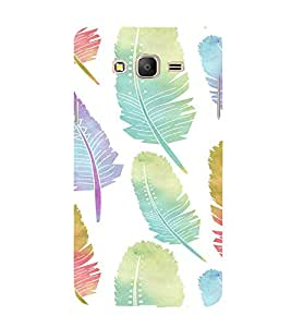 iFasho Animated Feather Back Case Cover for Samsung Galaxy On5 Pro