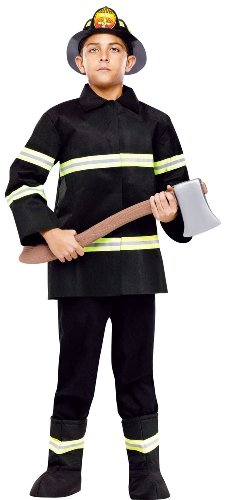 Fun World Chief Firefighter Kids Costume