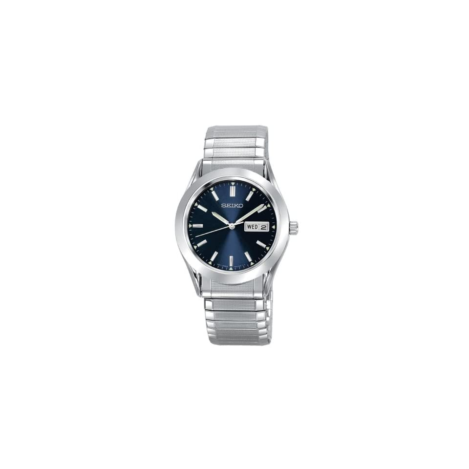 Seiko Mens SGF799 Seiko Flex Silver Tone Watch