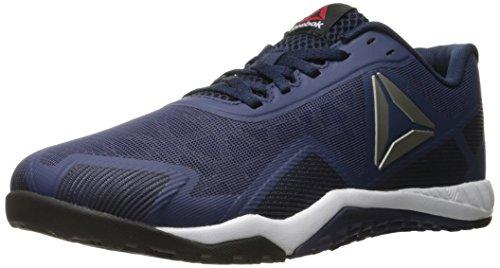 Reebok Men's ROS Workout TR 2-0 Cross-Trainer Shoe, Blue Ink/Collegiate Navy/Pewter, 10 M US