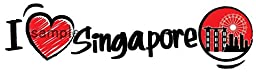 I LOVE Travel Sticker \