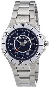 Sector Urban R3253111035 - Reloj para niñas de cuarzo, correa de acero inoxidable color plata