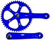 Retrospec Bicycles Fixed-Gear Crank Single-Speed Road Bicycle Crankset