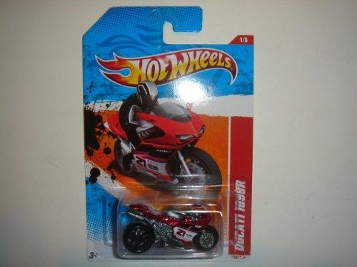 2011 Hot Wheels Ducati 1098R Dark Red #184/244 - 1