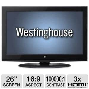 Westinghouse CW26S3CW 26-Inch 720p 60Hz LCD TV