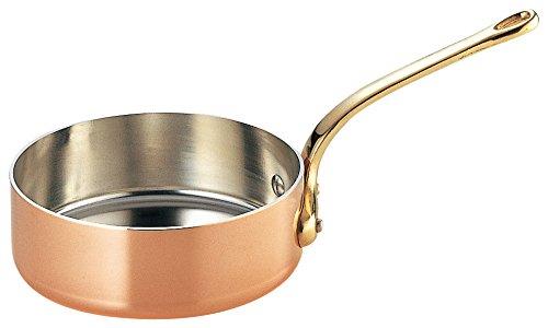 和田助製作所 銅 極厚鍋 浅型 真鍮柄 30cm 3444-0301