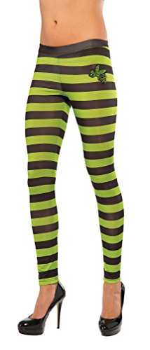 Popcandy Wicked Witch Of The West Leggings Wizard Of Oz Green Black 35766 (Wicked Witch Of The West Socks)