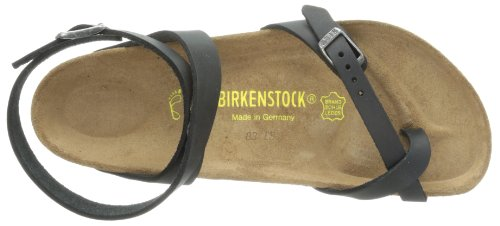 4f3b347c6062 Birkenstock Women s Yara Oiled Leather Flat