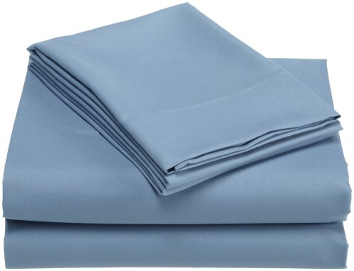 Cheap Divatex Home Fashions Luxury  Microfiber Twin Sheet Set, Blue