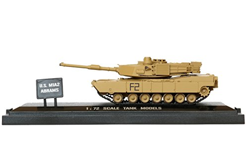 POCO DIVO US M1A2 Abrams Tank Diecast 1/72 Scale Showcase Collection Action Model (Diecast Military Tanks compare prices)