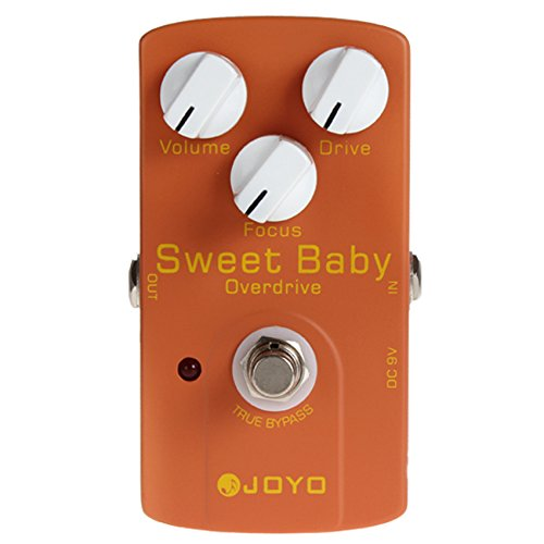 Fome Joyo Jf-36 Sweet Baby Drive Electric Guitar Audio True Bypass Effect Pedal+ Fome Gift