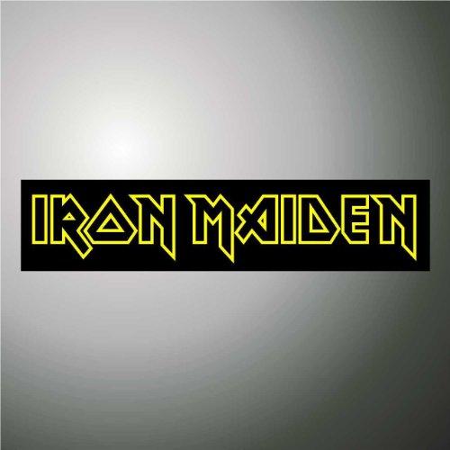 Adesivo Iron Maiden hip hop rap jazz hard rock metal pop funk sticker