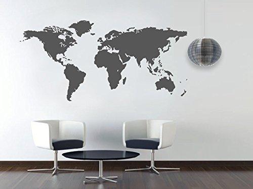 Large World Map Stencil World Map Stencil