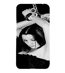 PrintVisa Bondage Kinky Girl Art 3D Hard Polycarbonate Designer Back Case Cover for LENOVO ZUK Z2 PRO