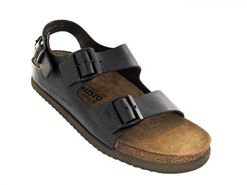 MEPHISTO NANDO dark brown sandalo uomo 2 fibbie