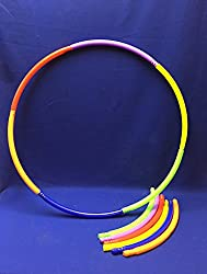 Coast Athletic 30 Inch Snap Together Hula Hoop