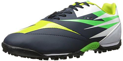 Diadora DD-NA 2 R Turf Soccer Shoe, Tuareg Blue/Fluorescent Yellow, 9 M US