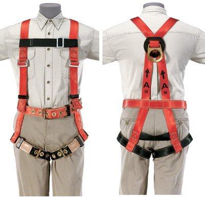 Klein 87074 Premium Fall-Arrest Harness, Medium front-445070