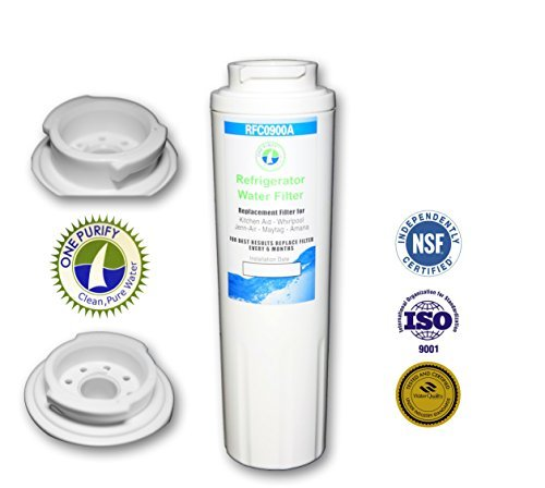 Onepurify Water Filter To Replace Maytag, Amana, Kenmore, Jenn-Air, Whirlpool, Kitchenaid, Ukf8001, Ukf8001Axx, Ukf-8001P, Ukf9001, Ukf9001Axx, 469006, 469992, 9005, 9006, 469030, 12527304, 4396395, Wf295, Wf50, Sgf-M10