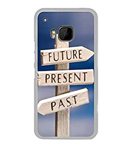 Life Direction Sign Board 2D Hard Polycarbonate Designer Back Case Cover for HTC One M9 :: HTC One M9S :: HTC M9 :: HTC One Hima