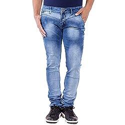URBAN FAITH Party Wear Blue Jeans for men