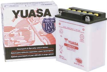 Yuasa Battery 12N5.5A-3B Yuasa Battery Batteries Battery37-64 Fl W/12V Conv Or Horseshoe Oil Tan - Yuam22A5B