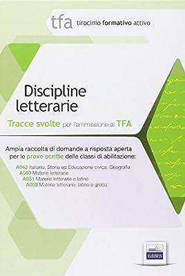 2 TFA. Discipline letterarie. Prova scritta per le classi A043, A050, A051, A052